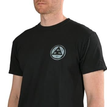 Welcome Bird Brain Garment-Dyed S/S T-Shirt - Black