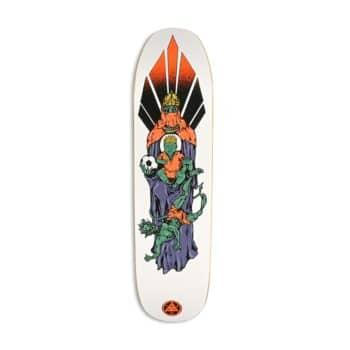 "Welcome Futbol on Son Of Moontrimmer 8.25"" Skateboard Deck - White"