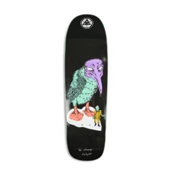 """Welcome No Strange Delight on Golem 9.25"""" Skateboard Deck - Black"""