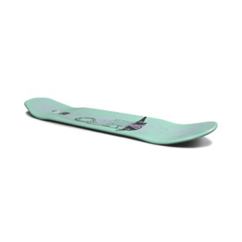 """Welcome Nora Vasconcellos Soil on Wicked Queen 8.6"""" Deck - Teal Dip"""