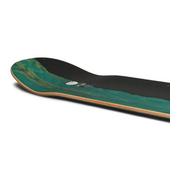 "Welcome Townley Hummingbird on Enenra 8.5"" Skateboard Deck - Black"