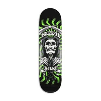 Zero Chris Cole MMXX Skateboard Deck - Green
