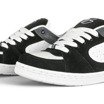eS Accel OG Skate Shoes - Black/Grey/Silver