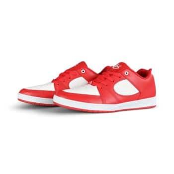 eS Accel Slim Skate Shoes - Red/White