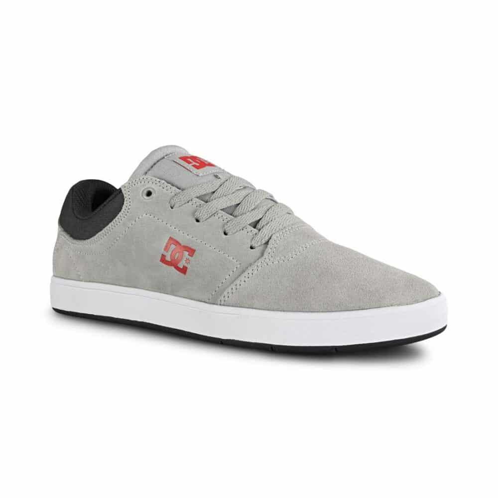 DC Crisis Skate Shoes - Black / Dark Grey / Athletic Red