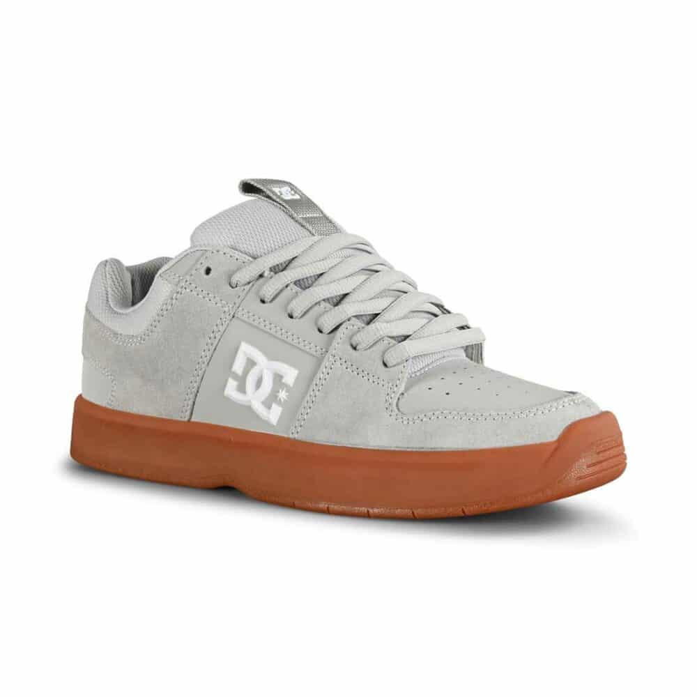 DC Lynx Zero Skate Shoes - Grey/White