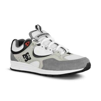 DC Shoes Kalis Lite - White/Armour/Athletic Red