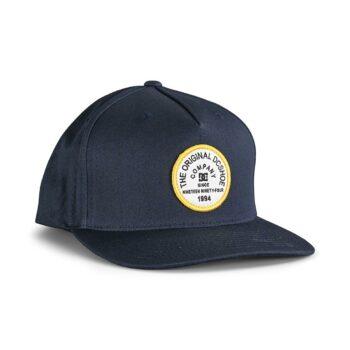 DC Badger Snapback Cap - Navy Blazer