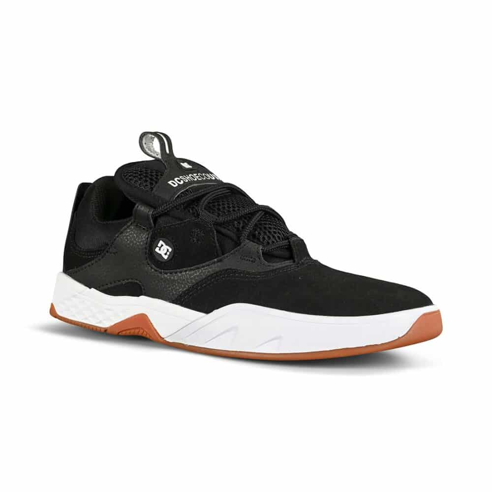 DC Kalis S Skate Shoes - Black/White/Gum