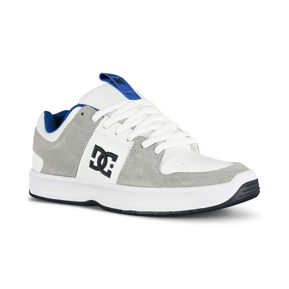 DC Lynx Zero Skate Shoes - White/Blue/Grey