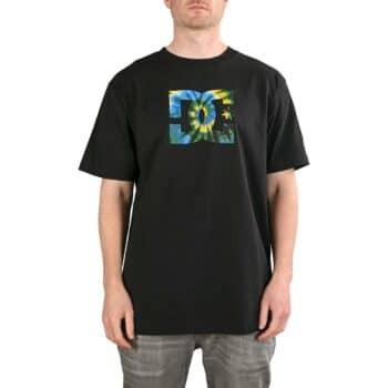 DC Star Tie Dye S/S T-Shirt - Black