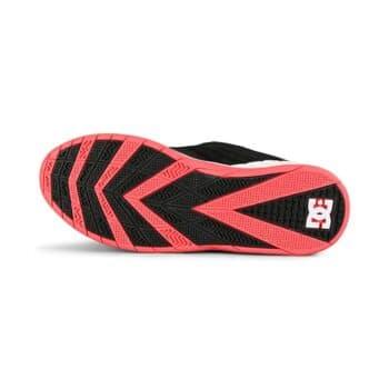 DC Williams Slim S Skate Shoes - Black/Hot Pink
