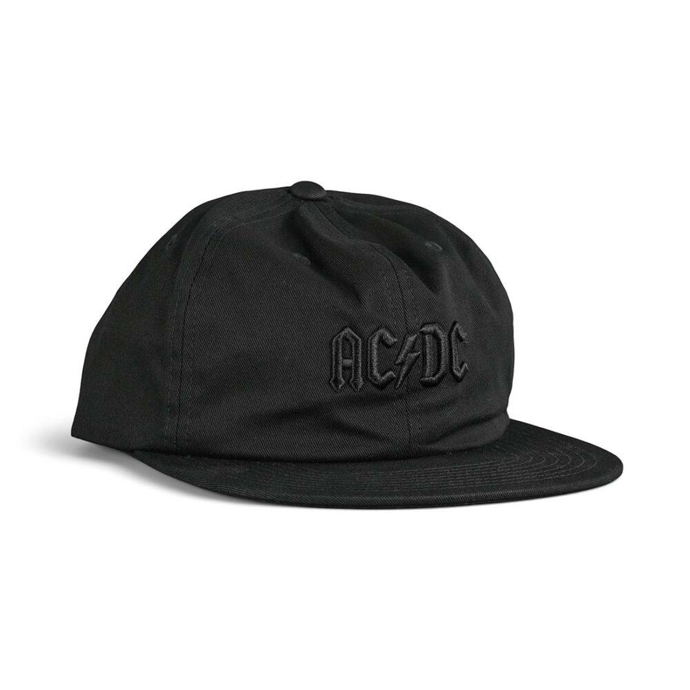 DC x AC/DC Snapback Cap - Black
