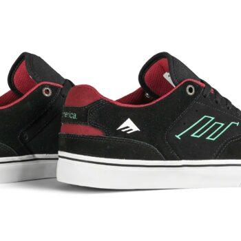 Emerica The Low Vulc Skate Shoes - Black