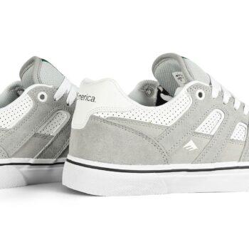 Emerica Tilt G6 Vulc Skate Shoes - Grey/White