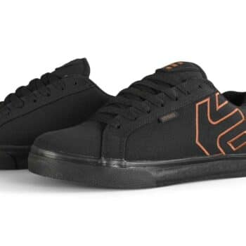 Etnies Fader Vulc Skate Shoes - Black / Brown