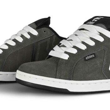 Etnies Metal Mulisha Fader 2 Shoes - Grey / Black / White