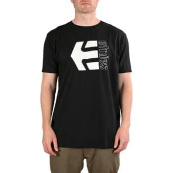 Etnies Corp Combo S/S T-Shirt - Black/White