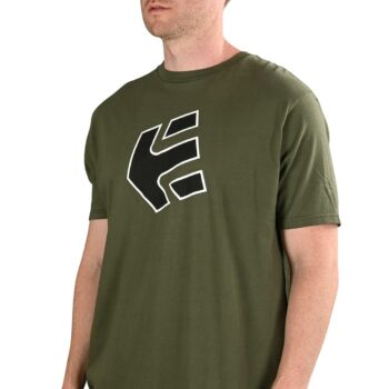 Etnies Crank S/S T-Shirt - Military