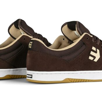 Etnies Marana Skate Shoes - Brown/White