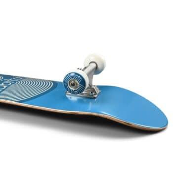 """Habitat Leaf Dot 7.75"""" Skateboard Complete - Blue"""