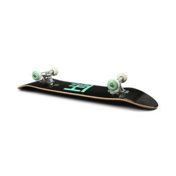 """Habitat Pod 8"""" Skateboard Complete - Black/Teal"""