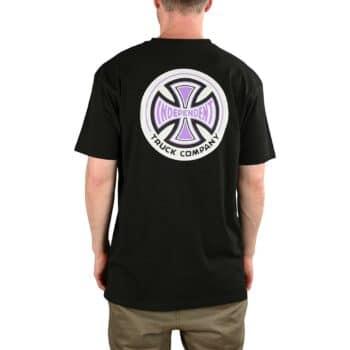Independent 78 Cross S/S T-Shirt - Black