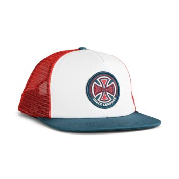 Independent Truck Co 78 Cross Mesh Back Cap - Red/White/Blue