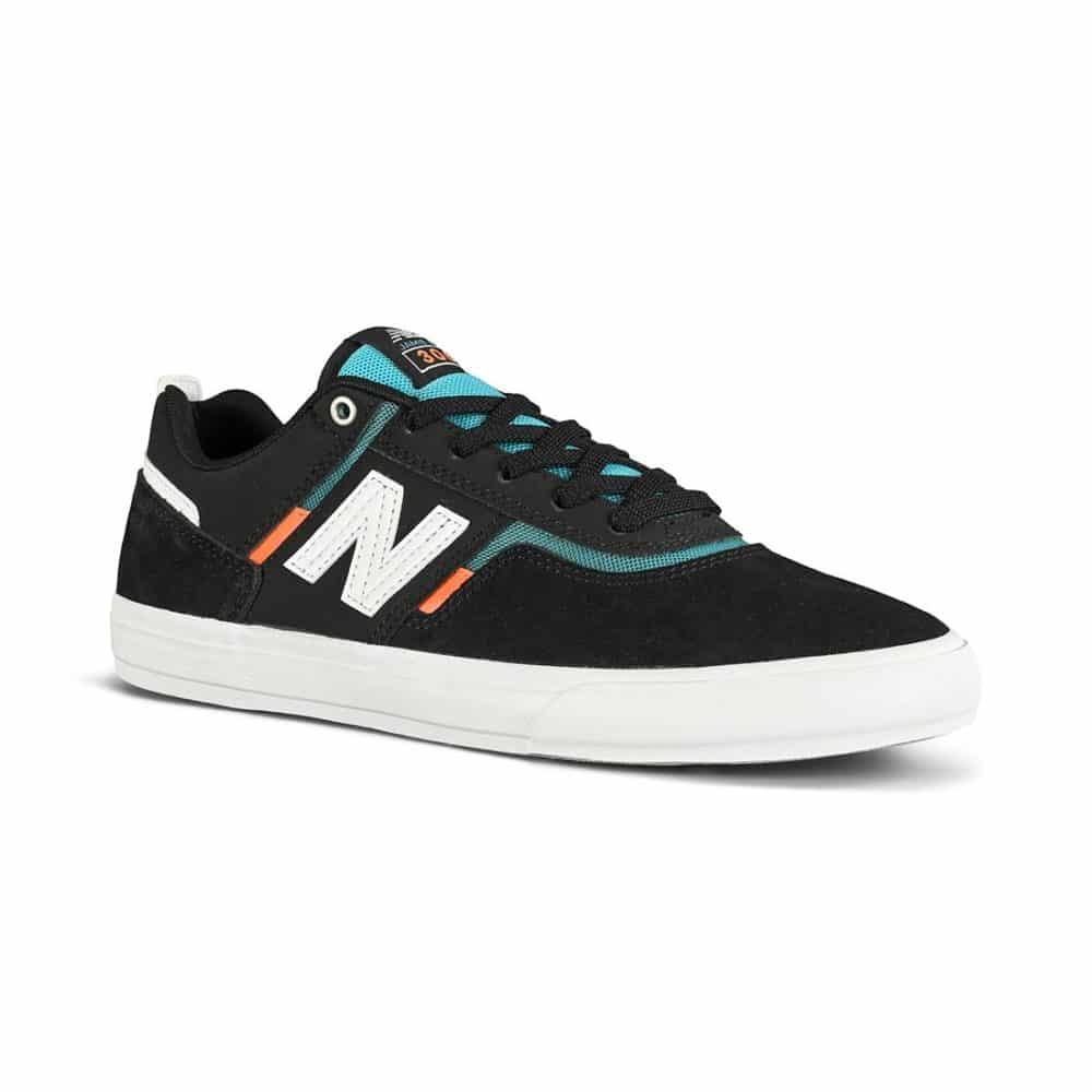 New Balance Numeric 306 Jamie Foy Skate Shoes - Black/Orange