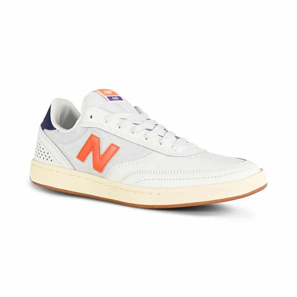 New Balance Numeric 440 Shoes - White/Orange