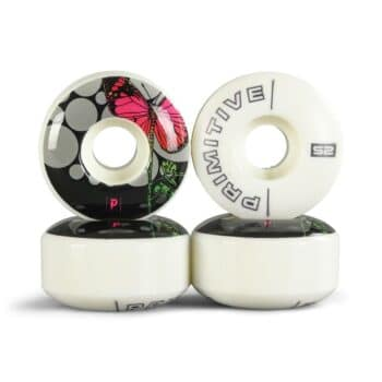 Primitive Rodriguez Cycles 52mm Skateboard Wheels - White