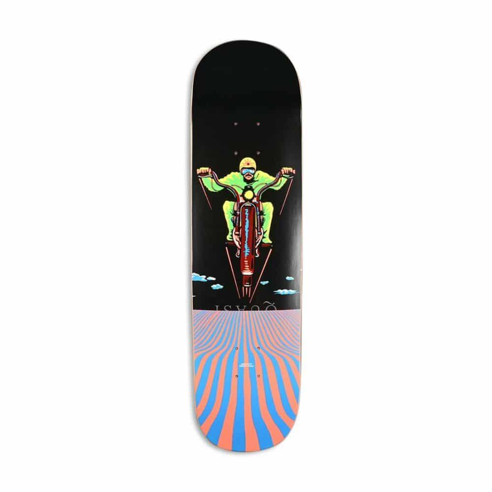 "Quasi Gilbert Crockett ""Dream Cycle"" 8.25"" Skateboard Deck"