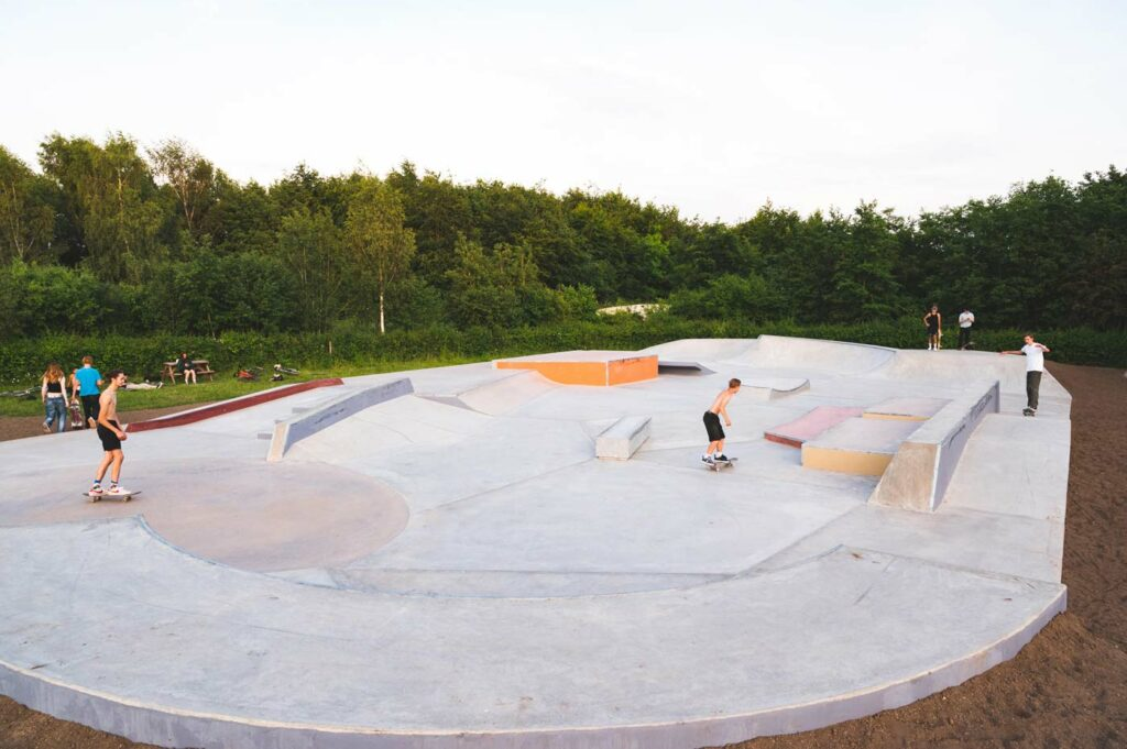 Ruddington Skatepark Nottingham