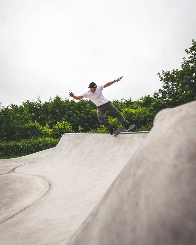 Ruddington Skatepark Nick Warman