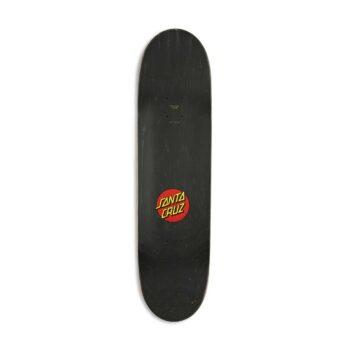 "Santa Cruz Classic Dot 8.375"" Skateboard Deck"