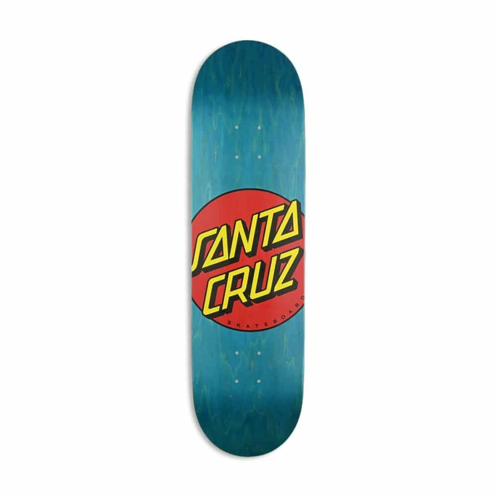 "Santa Cruz Classic Dot 8.5"" Skateboard Deck"