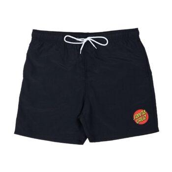 Santa Cruz Classic Dot Swimshorts - Black
