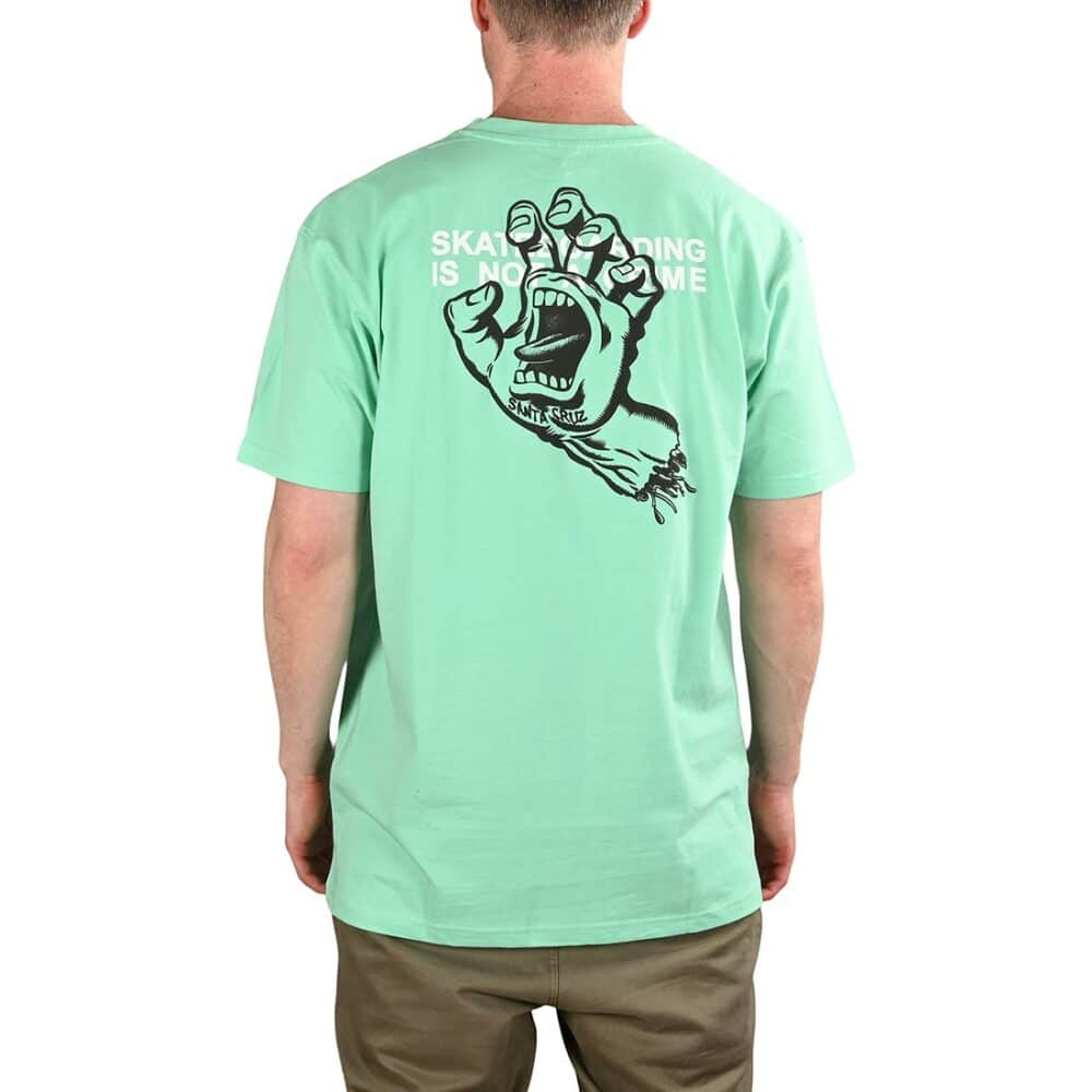 Santa Cruz Crime Hand S/S T-Shirt - Jade Green