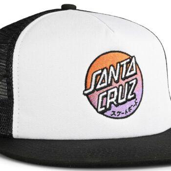 Santa Cruz Crossover Fade Mesh Back Cap - White/Black