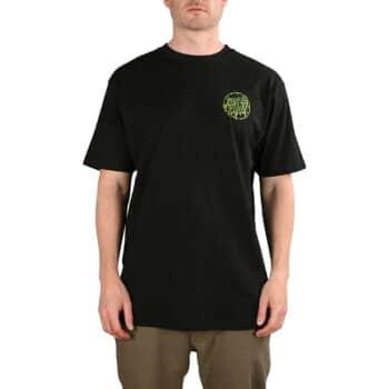Santa Cruz Toxic Dot S/S T-Shirt - Black