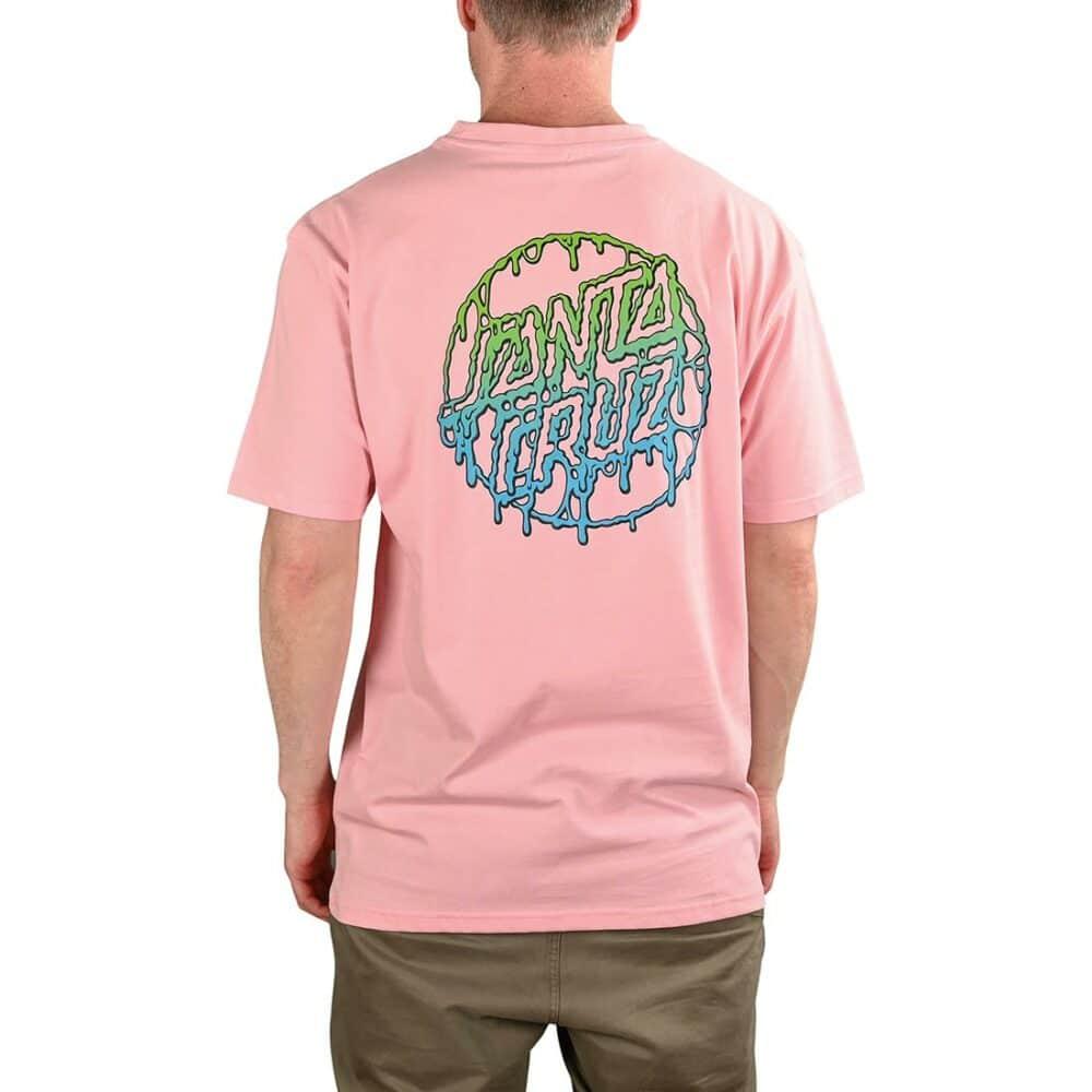 Santa Cruz Toxic Dot S/S T-Shirt - Pink