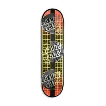 "Santa Cruz VX Transcend Dots 7.75"" Skateboard Deck"