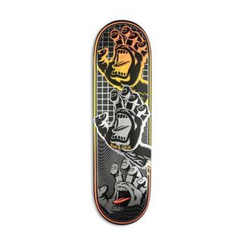 "Santa Cruz VX Transcend Hands 8.8"" Skateboard Deck"