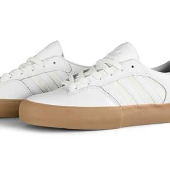 Adidas Matchbreak Super Skate Shoes - Cloud White/Cloud White/Gum