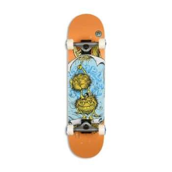 "Antihero Grimple Glue 7.75"" Complete Skateboard - Orange"