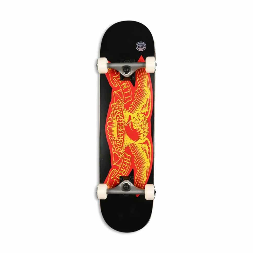 "Antihero Team Copier Eagle 8"" Complete Skateboard - Black"