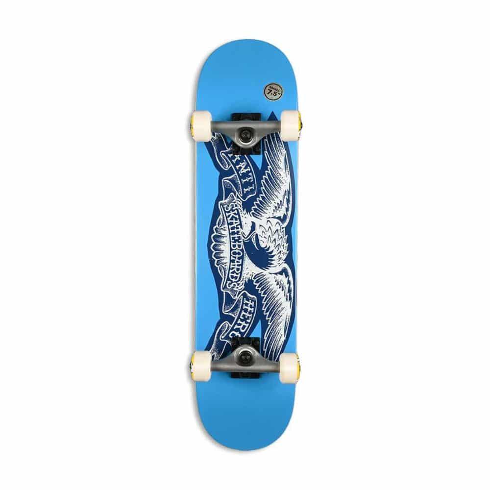 Antihero Team Copier Eagle Complete Skateboard - Blue