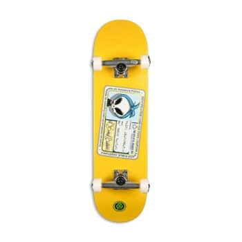 "Blind Old Boney Bastard FP 8.25"" Complete Skateboard - Yellow"