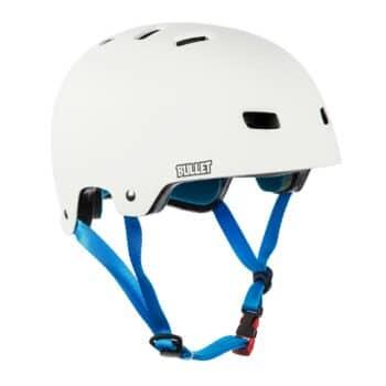 Bullet x Santa Cruz Screaming Hand Helmet - Matte White