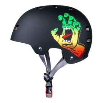 Bullet x Santa Cruz Screaming Hand Helmet - Rasta